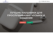 Создание одностраничника на Wordpress 338 - kwork.ru