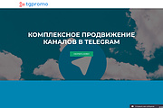 Создание одностраничника на Wordpress 329 - kwork.ru