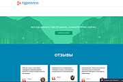 Создание одностраничника на Wordpress 327 - kwork.ru