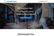 Создание одностраничника на Wordpress 295 - kwork.ru