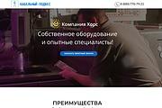 Создание одностраничника на Wordpress 294 - kwork.ru