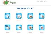 Создание одностраничника на Wordpress 298 - kwork.ru