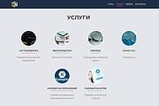 Создание одностраничника на Wordpress 292 - kwork.ru