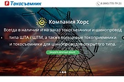 Создание одностраничника на Wordpress 287 - kwork.ru