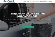 Создание одностраничника на Wordpress 272 - kwork.ru