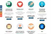 Создание одностраничника на Wordpress 268 - kwork.ru