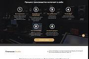 Сайт под ключ. Landing Page. Backend 440 - kwork.ru