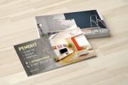 Дизайн визитки с исходниками 147 - kwork.ru