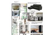 Планировочные решения. Планировка с мебелью и перепланировка 172 - kwork.ru