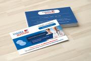 Дизайн визитки с исходниками 189 - kwork.ru