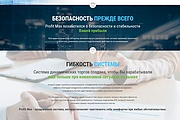 Дизайн продающего лендинга для компании 56 - kwork.ru