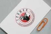 Разработаю винтажный логотип 123 - kwork.ru