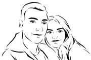 Нарисую портрет в стиле Pop Art,Comics Art, Stik Art 59 - kwork.ru