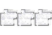 Планировка квартиры или жилого дома, перепланировка и визуализация 153 - kwork.ru