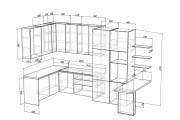 Проект корпусной мебели, кухни. Визуализация мебели 105 - kwork.ru