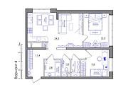 Планировка квартиры или жилого дома, перепланировка и визуализация 139 - kwork.ru