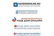 Создание логотипа для сайта 32 - kwork.ru