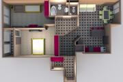 Интересные планировки квартир 165 - kwork.ru