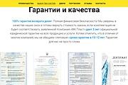 Создание сайта - Landing Page на Тильде 287 - kwork.ru
