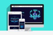 Создам сайт на WordPress с уникальным дизайном, не копия 40 - kwork.ru