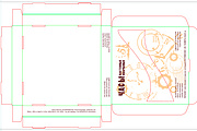 Подготовка макета упаковки к печати и вырубке 9 - kwork.ru