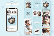 25000 шаблонов для Instagram, Вконтакте и Facebook + жирный Бонус 36 - kwork.ru