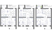 Планировка квартиры или жилого дома, перепланировка и визуализация 147 - kwork.ru