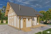 Фотореалистичная 3D визуализация экстерьера Вашего дома 215 - kwork.ru