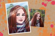 Портрет в стиле аниме или манги 30 - kwork.ru