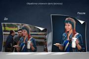 Удаление фона, дефектов, объектов 93 - kwork.ru