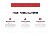 Лендинг для любых целей на Wordpress 170 - kwork.ru