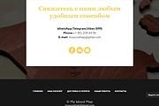 Создание сайта - Landing Page на Тильде 239 - kwork.ru