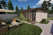 Фотореалистичная 3D визуализация экстерьера Вашего дома 382 - kwork.ru
