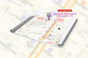 Красивая схема и карта проезда 23 - kwork.ru