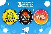 Оформление Telegram 88 - kwork.ru