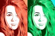 Нарисую поп-арт портрет по фото 11 - kwork.ru