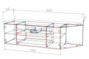 Конструкторская документация для изготовления мебели 185 - kwork.ru