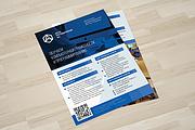 Дизайн двухсторонней листовки с исходниками 100 - kwork.ru