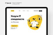 Уникальный дизайн Landing Page от профессионала 20 - kwork.ru