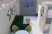 Создам планировку дома, квартиры с мебелью 109 - kwork.ru