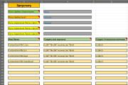 Макрос или формула Excel 33 - kwork.ru
