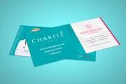 Дизайн двухсторонней листовки с исходниками 77 - kwork.ru