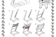Схема, инструкция сборки мебели 58 - kwork.ru