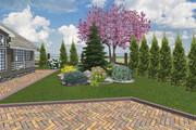 Проект ландшафтного дизайна участка 30 - kwork.ru
