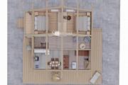 Фотореалистичная 3D визуализация экстерьера Вашего дома 211 - kwork.ru