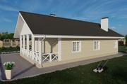 Фотореалистичная 3D визуализация экстерьера Вашего дома 286 - kwork.ru
