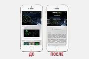 Адаптация сайта под все разрешения экранов и мобильные устройства 139 - kwork.ru