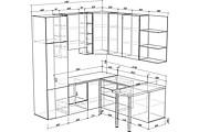 Конструкторская документация для изготовления мебели 238 - kwork.ru