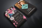 Дизайн визиток 55 - kwork.ru