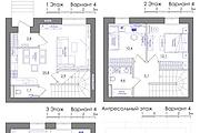 Планировка квартиры или жилого дома, перепланировка и визуализация 140 - kwork.ru